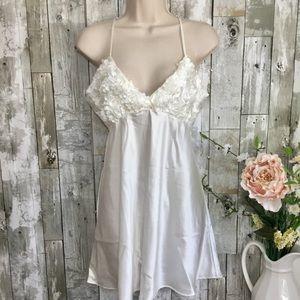 Flora slip dress, m